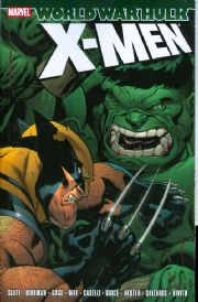 World War Hulk X-Men Marvel Comics Trade Paperback TP